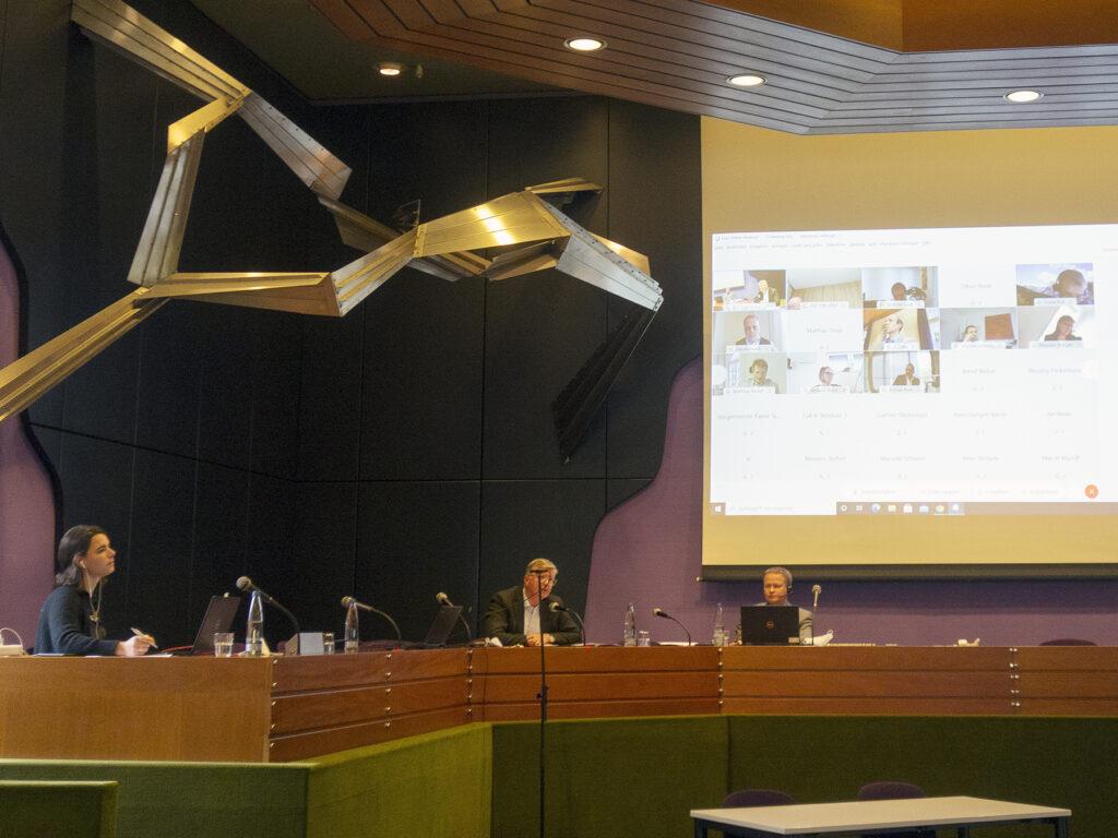 Videokonferenz Verbandsversammlung am 3. November 2020